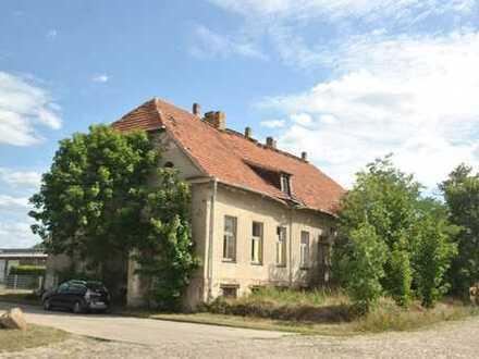 Herrenhaus sanierungsbedürftig nähe Magdeburg Sachsen-Anhalt
