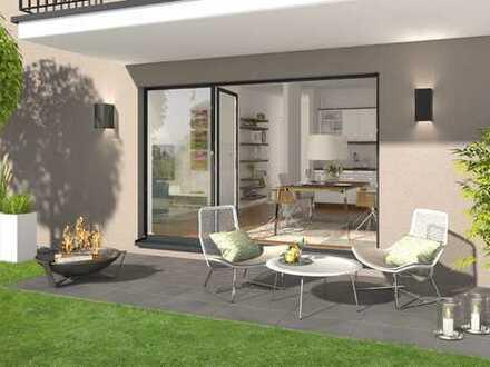 Familienwohnung mit großem Gartenanteil, viel Grün und tolle Lage