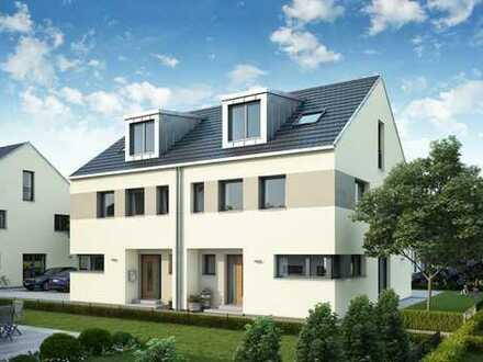 Baupartner für Doppelhaus gesucht! Moderne DHH mit Keller in massiver Ziegelbauweise!