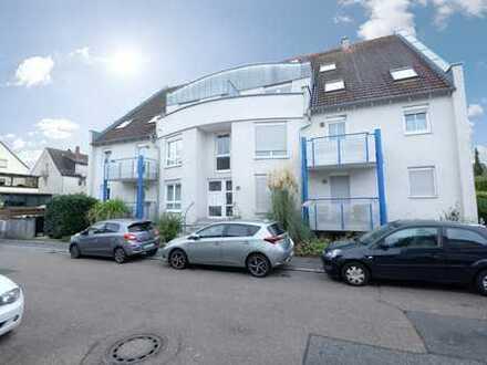Moderne 3 Zimmer-Wohnung mit eigener Terrasse in beliebter Wohngegend von Ilvesheim!