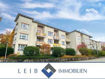 Seniorengerechte & barrierefreie 2-Zimmer Wohnung mit Balkon nahe Klinikum Coburg -reserviert-