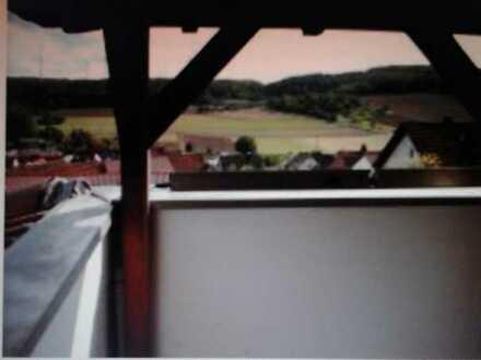 Schöne 2-Zimmer-DG-Wohnung mit Balkon in Helmstadt