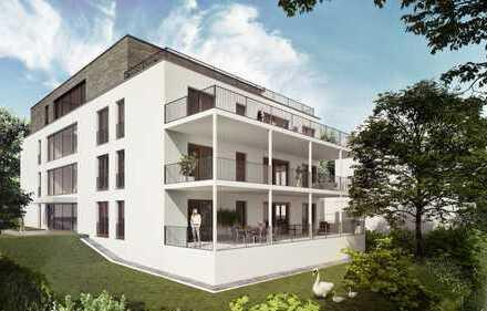 Baubeginn erfolgt: 10 Neubau-Eigentumswohnungen, mitten in Bad Homburg mit Blick ins Grüne