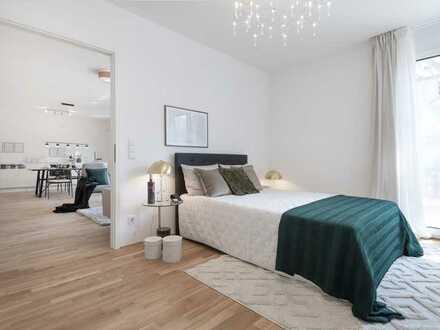 Neubau-ERSTBEZUG: 4-Zimmer-Wohnungen im 3. & 4. OG mit 2 Bädern, 2 Balkonen & Top-Aussicht!
