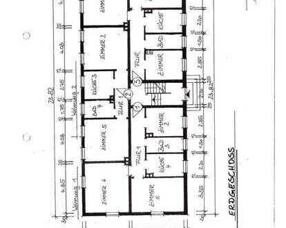 4-Zimmer Wohnung in Heringen zu vermieten