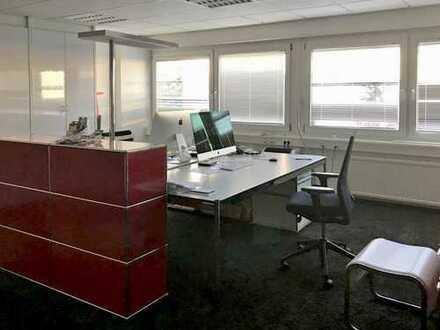 Halle 205m² und Büro 105m², Parkplätze, 5min zur A661
