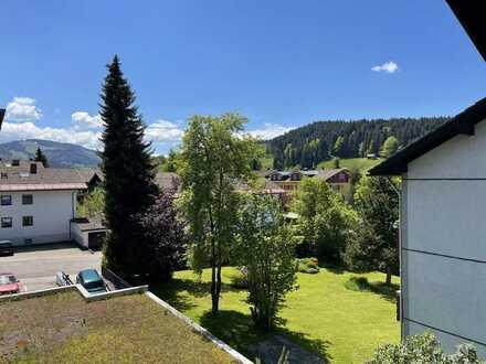 Schöne 3-Zimmerwohnung mit Südbalkon in Oberstaufen zu vermieten