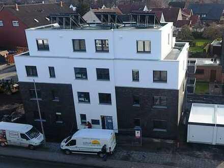Erstbezug! Obergeschosswohnung mit Balkon, KfW 55-Haus