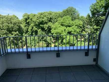 Neubau, 1-Zimmer-Apartment mit Balkon und Einbauküche!