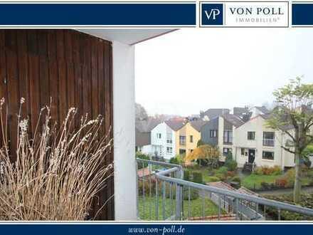 VON POLL - BAD HOMBURG: Vermietete Zwei-Zimmer-Wohnung mit Balkon in gefragter Lage