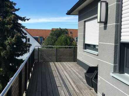 Exclusive 2-Zimmer-Wohnung mit Dachterrasse