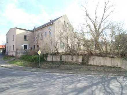 Zweifamilienhaus mit Gewerbehalle und traumhaften Grundstück!
