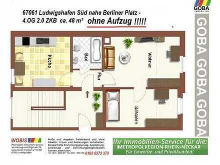 Lu Süd ab 01.2.2020 o.später 4.OG 3,0 ZKB 48 m² ohne EBK - ohne AUFZUG - Berliner Platz
