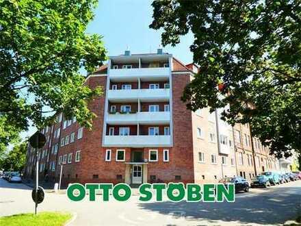 Kiel nähe Blücherplatz: Bezugsfreie 3-Zimmer-Eigentumswohnung in beliebter Lage OTTO STÖBEN