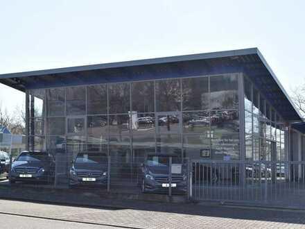 Die Gelegenheit: Modernes, sehr gepflegtes Autohaus in Karlsruhe in Top Lage