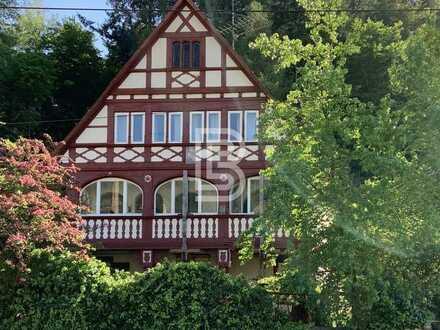 FR-Günterstal: Denkmalgeschützte Villa mit 3 Wohnungen, Flair und Potenzial