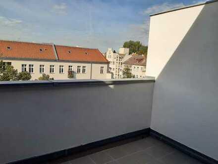 Dachterrassenwohnung Südwestseite mit Blick ins Grüne im Wedding, Berlin
