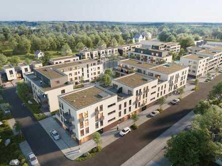 NEUBAU: 4 Zimmer Wohnung mit Terrasse/ Balkon und TG-Stellplatz