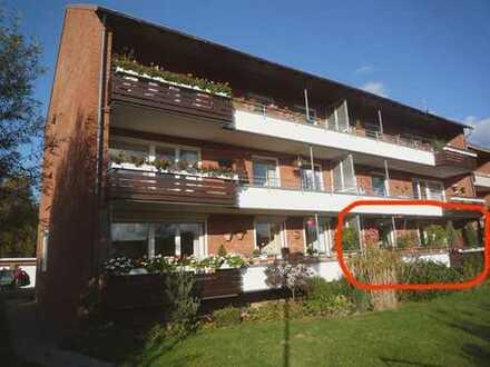 Gepflegte 4-Zimmer-Erdgeschosswohnung mit Balkon und EBK in Kronshagen