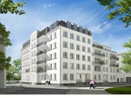 Luxus-2,5-Zimmer-Wohnung mit Balkon und Einbauküche in Frankfurt