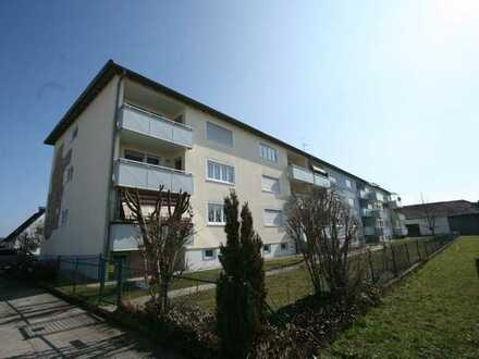 Schöne gut geschnittene 3 ZKB EG Wohnung in Mindelheim