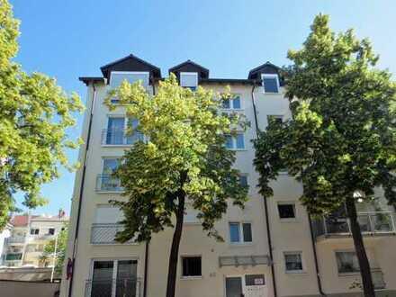 Hübsche Maisonette-Wohnung mit Blick auf St. Peter und Paul