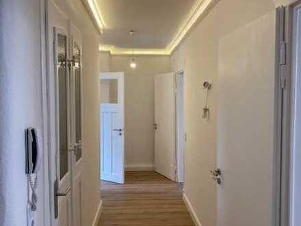 Familienfreundliche 4 Raum Wohnung mit begrüntem Innenhof Nähe Lindenauer-Hafen