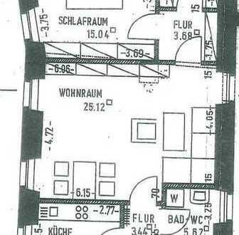 Herrliche 2 Zimmer-Wohnung mit ca. 65m² in der Nähe des Doms