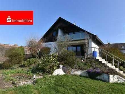 Attraktives Einfamilienhaus mit Ausbaumöglichkeit in Bad Camberg-Schwickershausen