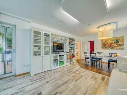 Ruhige 5 Zimmer Wohnung, Hochparterre in Hadern - Ideal für Familien, mit Grüner Atmosphäre