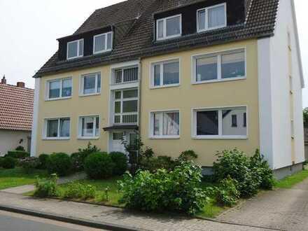 Gut geschnittene 3 Zimmer Wohnung im Hochparterre mit Südbalkon in Bremen-Aumund