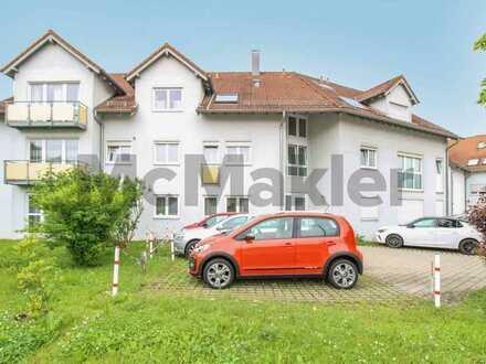 Attraktive 1-Zimmer-Wohnung mit eigenem Garten in zentrumsnaher Lage von Uhingen