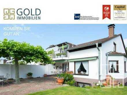 GOLD IMMOBILIEN: Sehr gepflegtes Reihenendhaus mit großer Gartenfläche in Mainz-Bretzenheim
