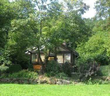 Freizeitgrundstück mit massivem Haus und eigenem Wald - Pfinztal