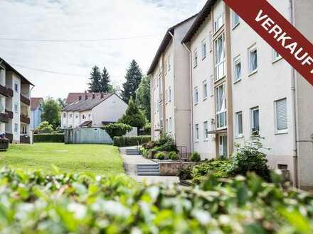 VERKAUFT! Helle 3-Zimmer-Wohnung mit Balkon und Keller! Dach und Gaszentralheizung NEU!