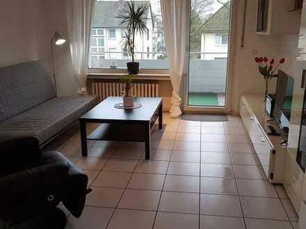 Ansprechende 1-Zimmer-Wohnung mit Balkon und Einbauküche in Bielefeld