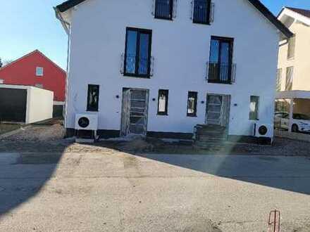 NEUBAU + ERSTBEZUG von 2 Doppelhaushälften im Neubaugebiet von Worms-Pfeddersheim