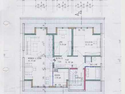 Preiswerte, gepflegte 5-Zimmer-Dachgeschosswohnung mit Balkon und Einbauküche in Brensbach