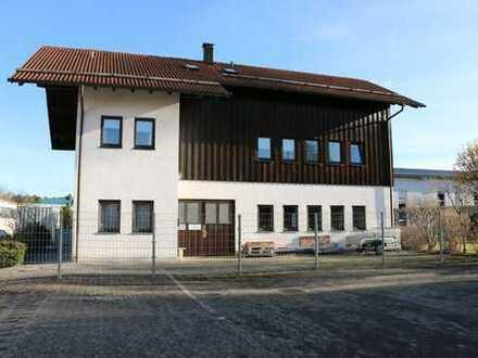 Vielseitig nutzbare Gewerbefläche optional mit Wohnung bzw. Büro und Lager