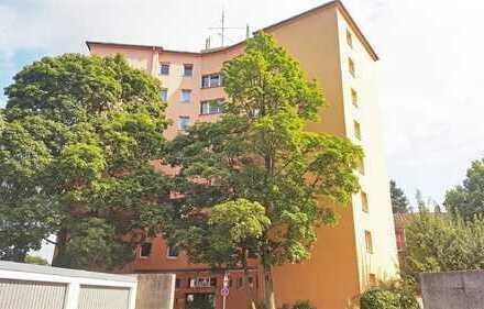Vermietetes 1-Zimmer-Appartement in Augsburg-Hochzoll