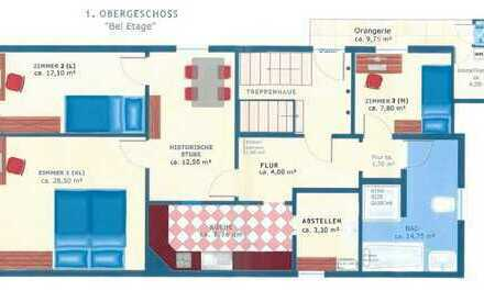 Wohnung mit 3 Zimmern in Bestlage - WG geeignet