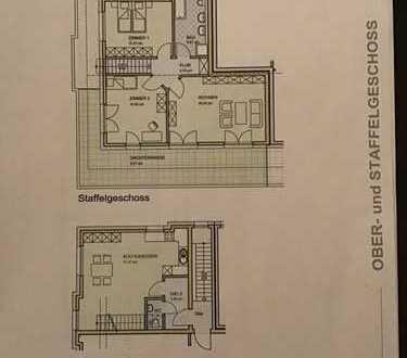 Stilvolle, gepflegte 4 Zimmer-Staffelgeschoss-Wohnung mit sonniger Terassein Wesseling Urfeld