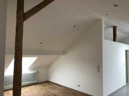 Renovierte Dachstudio Wohnung, zentral gelegen in Hanau