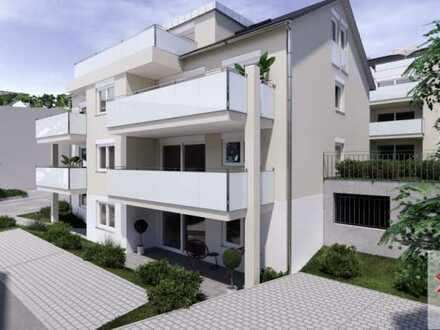 Geräumige 2-Zimmer-Neubau-Wohnung mit großer Süd-Terrasse!