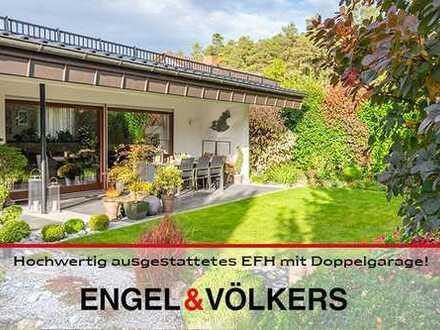 Komfortabel ausgestattetes EFH mit Doppelgarage und traumhafter Gartenanlage in Altleiningen!
