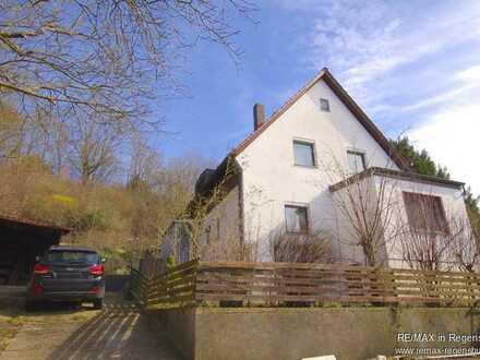 Am Westhang des Sallerner Berges! - Einfamilienhaus mit großem Grundstück