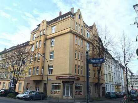 Lichtdurchflutete 2 bis 3-Zimmer-Altbauwohnung mit geräumiger Wohnküche in Dortmunder City