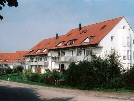 2 Zimmer Wohnung mit Doppelparkerstellplatz und Kellerraum in Jettingen-Scheppach