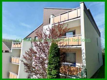 Stadtnahe, bezahlbare Wohnung mit Balkon & Einbauküche !