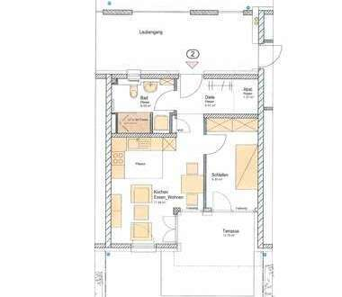 Neubau! 2 Zimmer-Wohnung in der Wunderburg, Bamberg